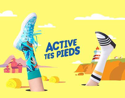 Défi Active tes pieds