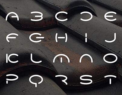 Round Typeface Design / Personal Work