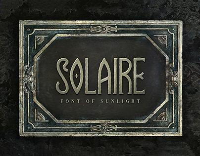 Solaire Typeface
