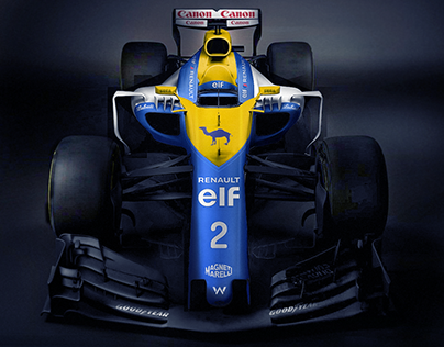 Williams F1 Car - Redesign (1993 style)
