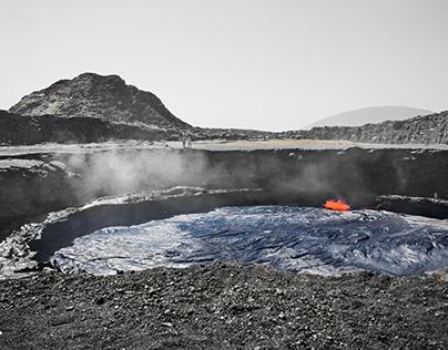 Erta Ale Lave Lake - South Pit -