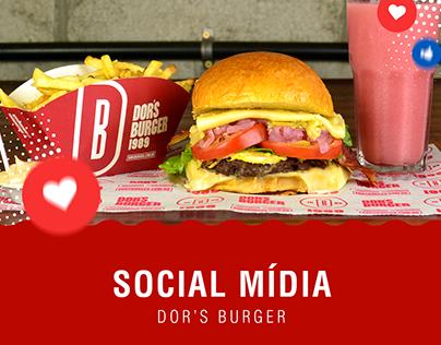 Social Mídia - Dor's Burger