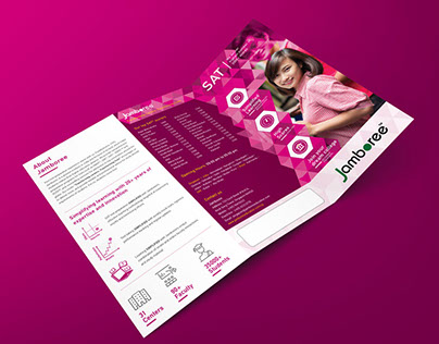 Marketing Collateral Design for Education Giant