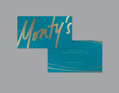 Monty's - Branding
