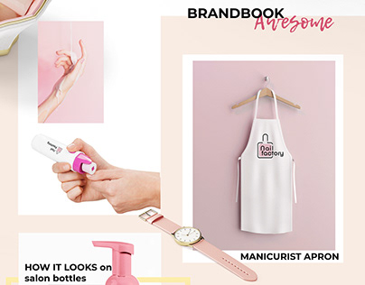 """Nail FACTORY"" brandbook"