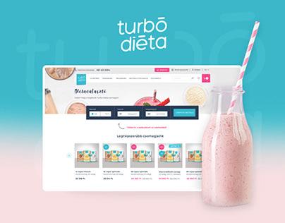 Turbo Diet redesign
