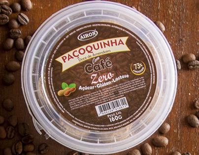 Rótulos Paçoquinha com Café AIRON