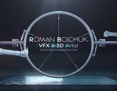 Roman Boichuk VFX & 3D Artist Showreel 2016