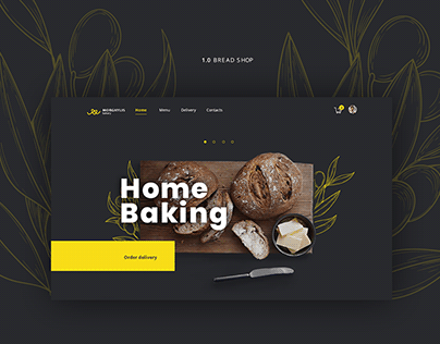 Website for home baking