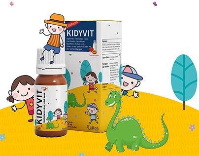 Design for Kid's Vitamin