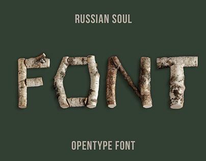 Russian Soul Font