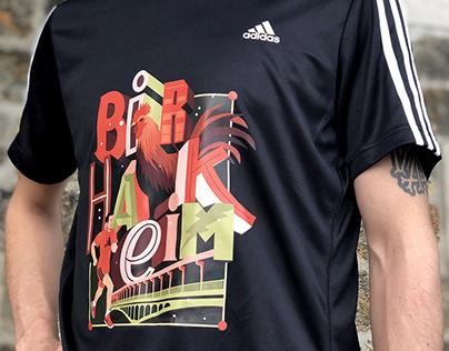 Adidas 10K Paris T-shirt