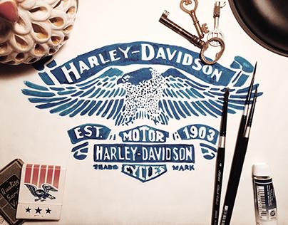 Harley Davidson - Eagle Emblem