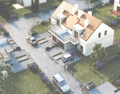 Small estate near Wroclaw