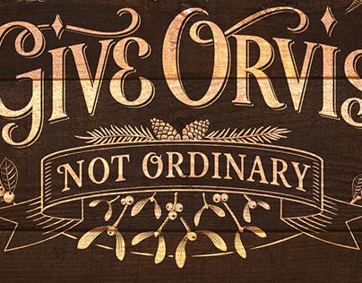 Give Orvis – Festive Laurel