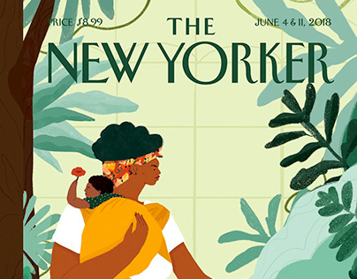 """""""Nurture"""" The New Yorker Cover"""