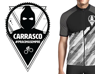 Logo e Jersey para o grupo de ciclismo Carrasco