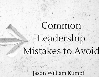 Common Leadership Mistakes to Avoid