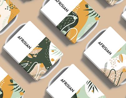 Afrisian - Branding & Packaging design