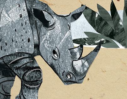 犀牛的皮为什么这么皱 / How the Rhinoceros Got His Skin