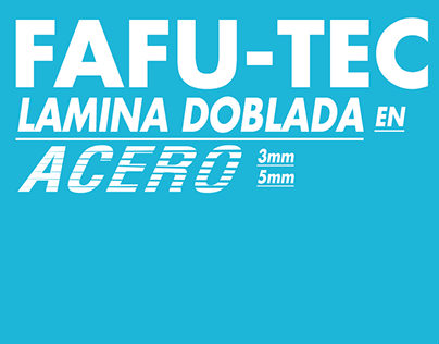 Catálogo Sistema Fafu-Tec