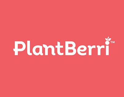 PlantBerri Branding and Packaging