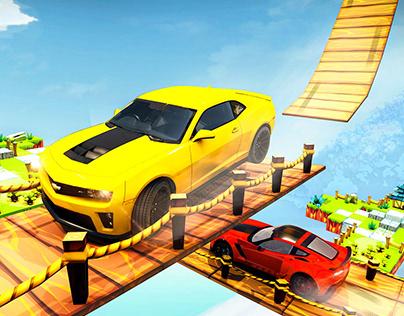 Stunt Car Game Screenshots-gui/ui/ue/ux app icon logo