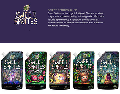 Sweet Sprites Package Design