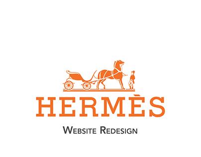 Hermes Website Redesign
