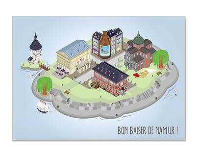 Bon baiser de Namur !