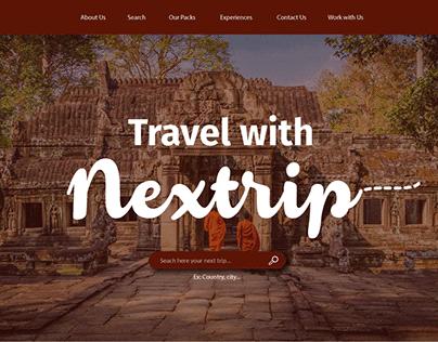 Layout site Nextrip