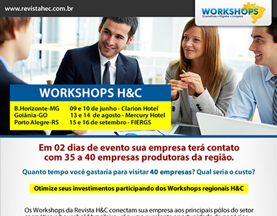 Workshop Revista H&C