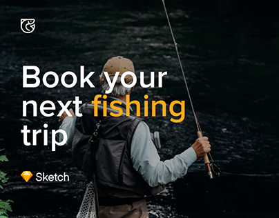 FishingBooker.com Concept -Book your next fishing trip