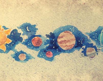 Watercolor - Minerva Astrologia
