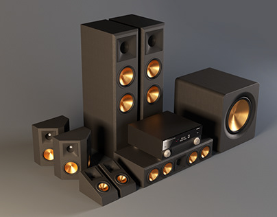 Home Teather system 3D