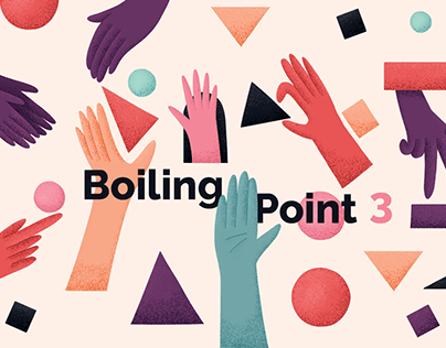 Boiling Point competition poster