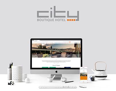 CITY HOTEL SARAJEVO/ website design/ UIX