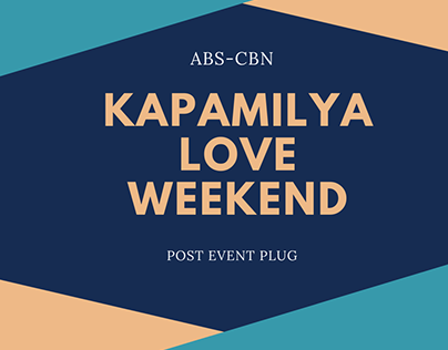 Kapamilya Love Weekend Post Event Plug