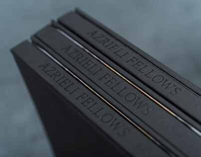 Azrieli Fellows : A Story of Drive / Book Design