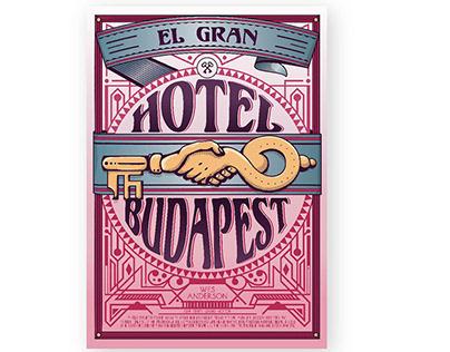Afiche / Budapest grand hotel