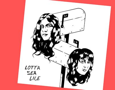 Lotta Sea Lice album redesign