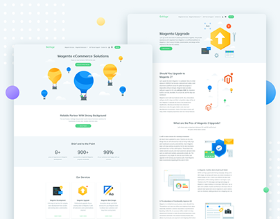 GoMage: Website redesign
