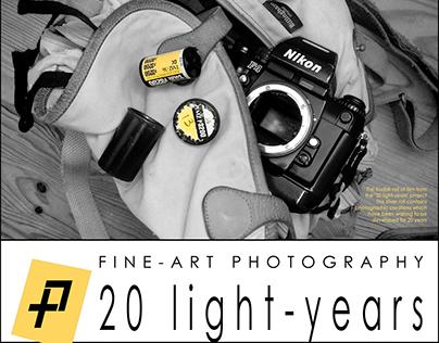 Fine Art concept - Film video-photo-exhibition catalog