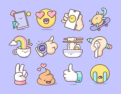 HUAWEI - Sticker Pack