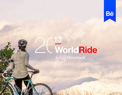 WorldRide 2013 by Liz Dimmock