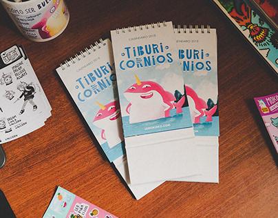 Pink Magic Shark Calendar