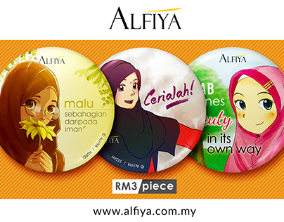 Button Badges - ALFIYA
