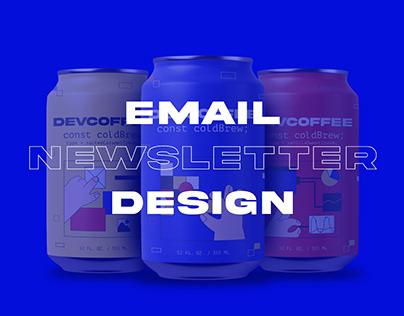 DEVCOFFEE Email newsletter design