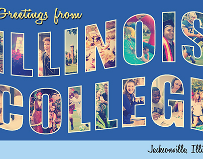 """""""Visit Illinois College"""" Two-Panel Mailer"""
