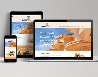 Carris Reels — website design + development